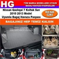 Nissan Qashqai 7 Koltuk 2010 2013 Gri Bagaj Havuzu Paspası 38944