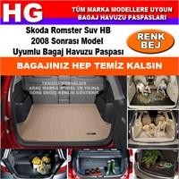 Skoda Romster 2008 Sonrası Bej Bagaj Havuzu Paspası 39097