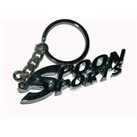 Z tech Metal Spoonsports Krom Anahtarlık