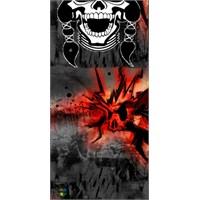 Loco Active Skull 02 Boyun Bağı