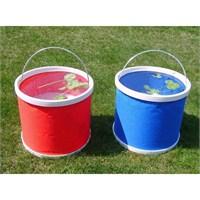Buffer Su Sızdırmaz Kompakt Katlanabillir Kova