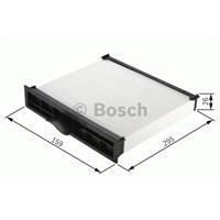 Bosch - Filtre (İç Kısım) (Bmw 3 Serısı [E36 Kasa] 316I) - Bsc 1 987 432 002