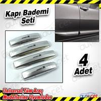 AutoCet Sport Nikelaj Gri Kapı Badem 4 Lü Set 3503a