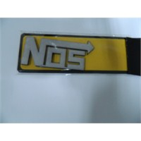 Speed Nos Sticker 9x4cm Gri