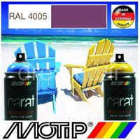 Motip Carat Ral 4005 Parlak Mor Akrilik Sprey Boya 400 Ml. Made in Germany 413438