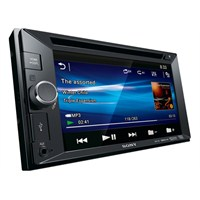 "Sony XAV-65 Double-Din 6.2"" DVD/MP3/USB & Aux-In"