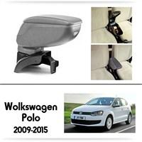 Schwer Volkwagen Polo 2009-2015 Koltuk Arası GRİ Kol Dayama Kolçağı-8502