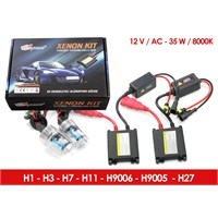 Space Xenon Kit H3 8000K 12V-DC 35W