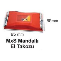MxS Mandallı El Zımpara Takozu 85 mm x 65 mm 102848