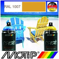 Motip Carat Ral 1007 Parlak Koyu Sarı Akrilik Sprey Boya 400 Ml. Made in Germany 413407