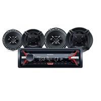Sony SFB-1613 Cdli Oto Teyp ve Hoparlörlü Mega Bass Performans Seti