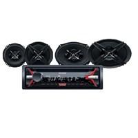 Sony SXB-6916 Cdli Oto Teyp ve Hoparlörlü Mega Bass Performans Seti