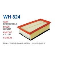 Wunder RENAULT FLUENCE-MEGANE III 1.5 dci, 1.6 16V, 2.0 16V 02/10- Hava Filtresi OEM NO: 8200820859
