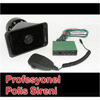 CarSpeed Profesyonel Polis Sireni Megafonlu 100 Watt |115770