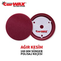 Carwax Sünger Ped Bordo 180 Mm
