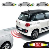 Led Ekranlı Ve Ses İkazlı Park Sensörü