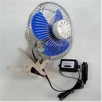 Dreamcar 6' Mandallı Kokulu Vantilatör (Pervane Çapı:15 cm) 12 V Kademeli 33536