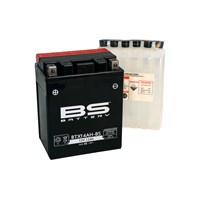 Bs-Battery Btx14ah-Bs (Ytx14ah-Bs) 12V 12Ah 210Cca Agm Bakımsız Motosiklet Aküsü