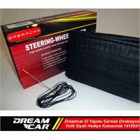 Dreamcar El Yapımı Sarmalı Direksiyon Kılıfı Siyah Hediye Kutusunda 1412031