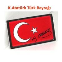 AutoCet K.Atatürk Kare Türk Bayrağı Arması (51514)