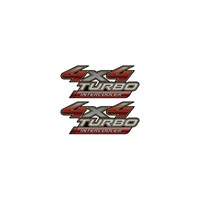 Sticker Masters 4 X 4 Turbo İntercooler Sticker