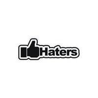 Sticker Masters Haters Sticker
