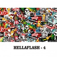 Sticker Masters Hellaflush-4 Sticker