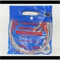 CarSpeed 3 Ton %100 Çelik Çekme Halatı (8 mm) 3,5 Metre |115729