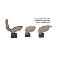Z tech Full fonksyonlu Sürgülü kol dayama kolçak (Krem,Bej) 12458