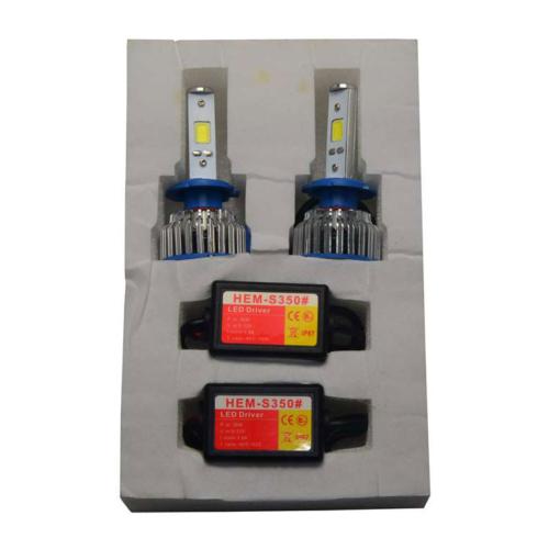 LED Xenon Far Kiti H7 Headlight 2200 Lumen