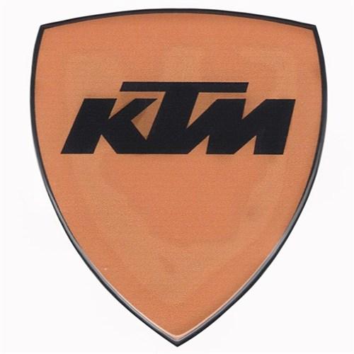 Tex 650 Xrace Ktm Turuncu Damla Silikon Çıkartma