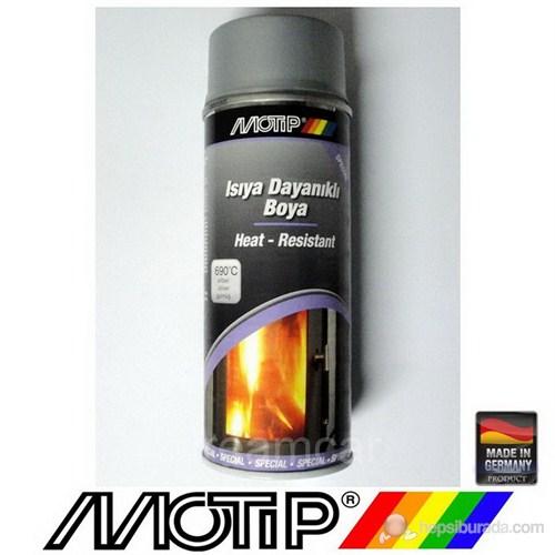 Motip 690°C Isıya Dayanıklı Gümüş Boya 400 Ml. Made in Germany 4048500334122