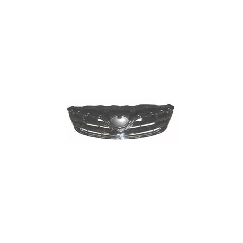 Toyota Corolla- E150- 10/12 Ön Panjur Siyah Nikelaj Kaplamalı