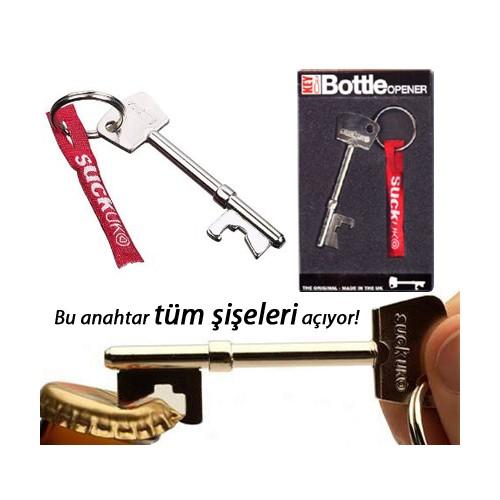 Suck Uk Key Bottle Opener (Şişe Açacağı Anahtar)