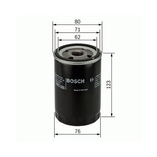Bosch 0451103314 Yağ Filtresi Caddy-Golf-Jetta-Passat-Polo-Bora-T5-Lt28-35-Lt40-55-Ibıza-Leon-Toledo-Octavıa