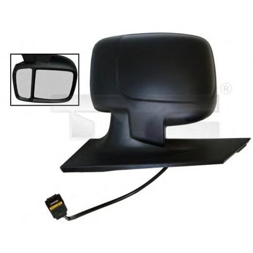 Eurocell Em-6116Ehs R Dıs Dikiz Aynası Sag (Elektrıklı - Isıtmalı) Expert Iıı-Jumpy Iıı-Scudo Iıı (Manuel Katlanır Tıp - Sıyah) Cıft Camlı - Isı Sensörlu 07->