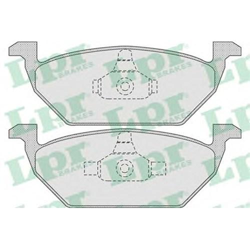 Textar 2313001 Ön Fren Balata - Marka: Vw - Polo - Yıl: 02-09 - Motor: Bm