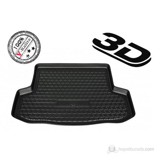 L.Locker Volkswagen Polo 6R 2009 Sonrası 3D Bagaj Havuzu (Üst Bagaj)
