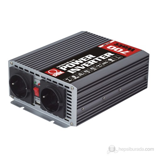 DBK MSI-700 - 700 Watt 12-230 Volt USB'li Dönüştürücü (İnvertör)