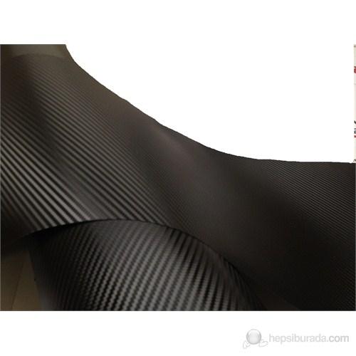 AutoFolyo Siyah Hava Kanallı Karbon Folyo 152X100 Cm