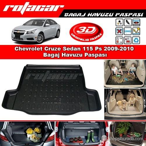 Chevrolet Cruze Sedan 2013 Sonrası Bagaj Havuzu Paspası