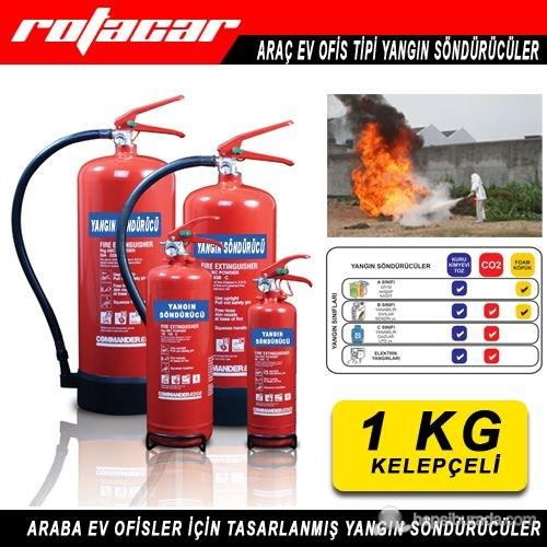 1 Kg Yangın Söndürme Cihazı (4 Yıl Ürün ve Dolum Garanti Süresi)