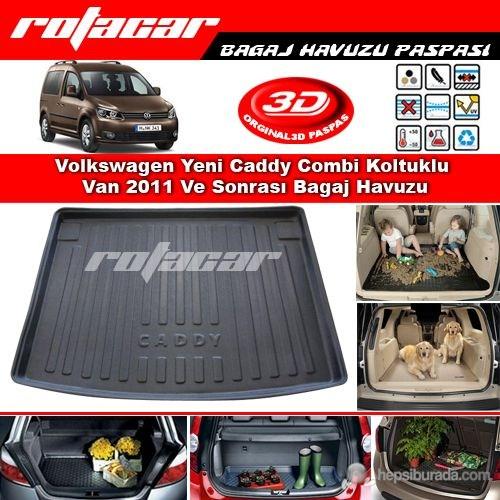 Volkswagen Yeni Caddy Combi Koltuklu Van 2011 Ve Sonrası Bagaj Havuzu Bg0400