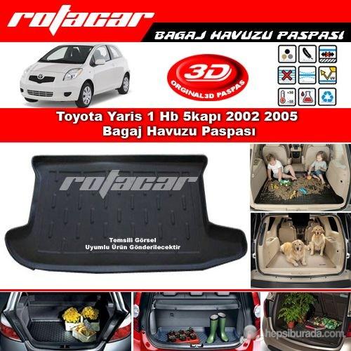 Toyota Yaris 1 Hb 5kapı 2002 2005 Bagaj Havuzu Paspası BG0185