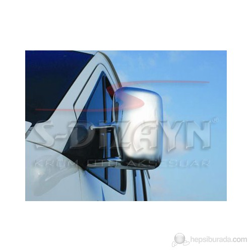 S-Dizayn Vw Lt Ayna Kapağı 2 Prç. Abs Krom (1998-2006)