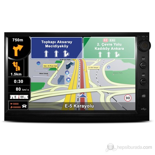 Piranha Encore 7,0 inç Navigasyonlu Oto Ses ve Görüntü Sistemi