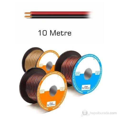Sevtel 2 x 1,5 mm2 - 10 Metre Hoparlör Kablosu
