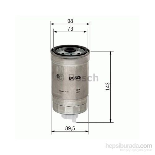 Bosch - Yakıt Filtresi Kutusu (Mıtsubıshı Canter) - Bsc 1 457 434 459