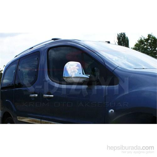 S-Dizayn Citroen Berlingo 2012> Model Ve Üzeri Ayna Kapağı 2 Prç. Abs Krom