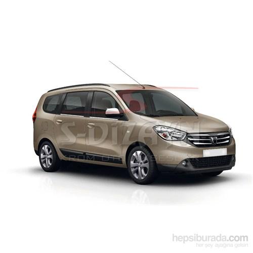 S-Dizayn Dacia Lodgy 2013> Model Ve Üzeri Cam Çıtası 4 Prç. Krom P.Çelik